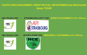Coupe d'encouragement Credit Mutuel Masculins
